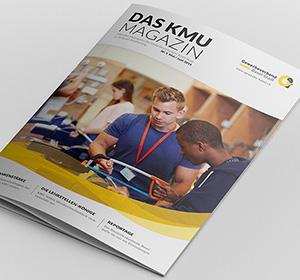 <span>KMU Magazin</span><i>→</i>